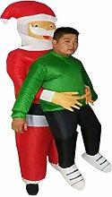 Aufblasbarer Anzug Weihnachtsmann Hug People Party