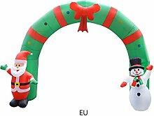 Aufblasbarer Bogen, Weihnachten Aufblasbarer