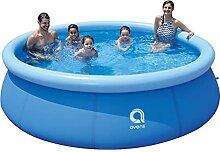 Aufblasbarer Familien Pool, Sicherheit Komfortabel