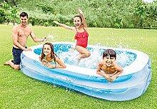 Aufblasbarer Family Pool rechteckig -