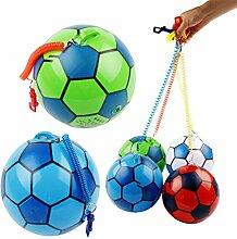 Aufblasbarer Fußball mit Schnur, für Kinder