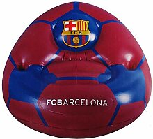 Aufblasbarer Kinder Sessel mit FC Barcelona Wappen