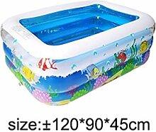 120//130//150cm Kinderpool Planschbecken Schwimmbad Swimming Sommer Aufblasbar neu