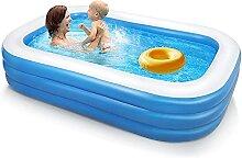 Aufblasbarer Pool, 260 x 170 x 56 cm Aufblasbare