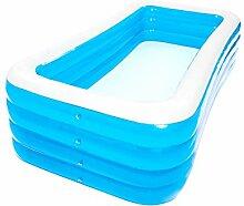 Aufblasbarer Pool Erwachsene Kinder Rectangle