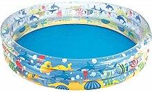 Aufblasbarer Pool, farbtransparentes aufblasbares