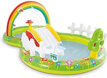 Aufblasbarer Pool für den Garten,