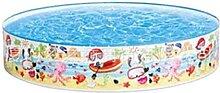 Aufblasbarer Pool für Kinder, 152 x 25 cm, rundes