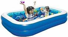 Aufblasbarer Pool Groß Kinder Rechteckig 3D