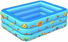 Aufblasbarer Pool, Planschbecken für Familie und