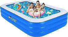 Aufblasbarer Pool Planschbecken für Kinder, Pool