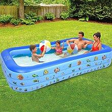 Aufblasbarer Pool Planschbecken Groß, Pool