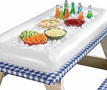 Aufblasbarer Salat-Bartablett für Lebensmittel