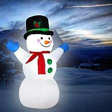 Aufblasbarer Schneemann Monzana Die Saisontruhe