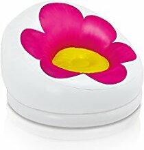 Aufblasbarer Sessel Blume–Rosa