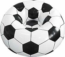 Aufblasbarer Sessel, Fußball