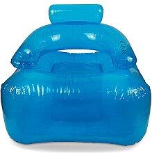 Aufblasbarer Sessel LI.ON.EL (Blue) mit
