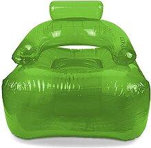 Aufblasbarer Sessel LI.ON.EL (Green) mit