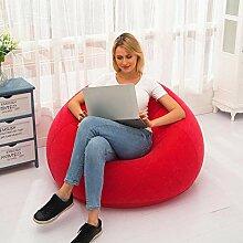 Aufblasbarer Sitzsack, Extra Großer Pear Single