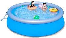 Aufblasbarer Swimmingpool, PVC Faltbarer Pool,