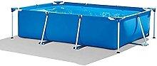 Aufblasbarer Swimmingpool, rechteckig, groß,