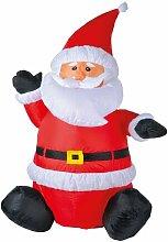 Aufblasbarer Weihnachtsmann Die Saisontruhe