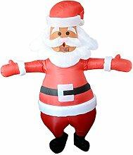 Aufblasbarer Weihnachtsmann-Kostüm, aufblasbar,