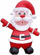 Aufblasbarer Weihnachtsmann WULAU Aufblasbar LED