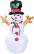 Aufblasbarer Weihnachtsschneemann