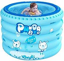Aufblasbares Babybecken Newborn Home Badewanne Isolierung übergroße runde Badewanne 1-3 Jahre alte Babybadewanne