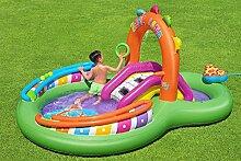 Aufblasbares Planschbecken/Pool mit Rutsche  