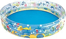 Aufblasbares Schwimmbad, transparente Farbe Indoor