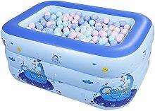 Aufblasbares Schwimmbecken für Kinder