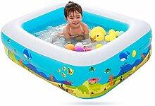 Aufblasbares Schwimmbecken für Kinder mit