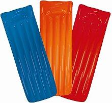Aufblasbares Schwimmbecken matt Lilo Liege Air Matte Rot, Orange oder Blau