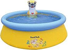 Aufblasbares Schwimmbecken rund Kinderhaushalt