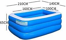 Aufblasbares Schwimmbecken Tragbares