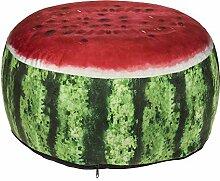 Aufblasbares Sitzkissen, Wassermelone, 100%