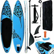 Aufblasbares Stand Up Paddle Board Set 305x76x15