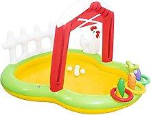 Aufblasbares Wasserspielzentrum Planschbecken Mit