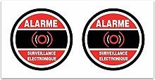 Aufkleber-Alarm Überwachung ELECTRONIQUE? Z114