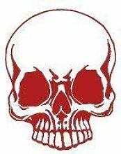 Aufkleber Applikation - Totenkopf Skull Schädel -