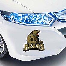 Aufkleber Auto Für große Braunbär Maskottchen