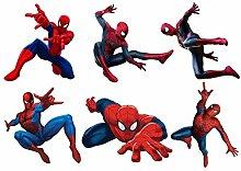 Aufkleber-Bogen für Kinder, Motiv Spiderman, Ref 15128, 31x40cm