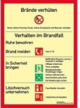 Aufkleber Brandschutzordnung (ohne Brandmelder)