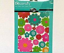 Aufkleber Decoraty - Blumen (6 Stück), Maildor,