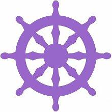 Aufkleber Dharma-Rad Scheibenaufkleber in 5