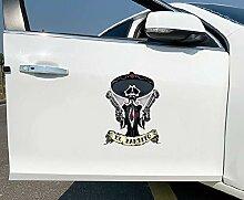 Aufkleber El Bandito Pistolen Cool Auto Moto Auto