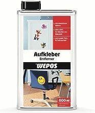 Aufkleber Entferner 500ml 2000102101 - Wepos