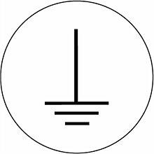 Aufkleber Erde, Folie, Rolle, Ø 1,25 cm